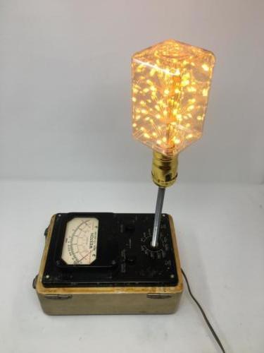 Ohmmeter lamp