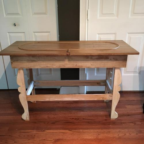 Piano lid table