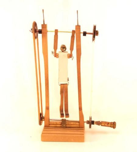 Cranked gymnast