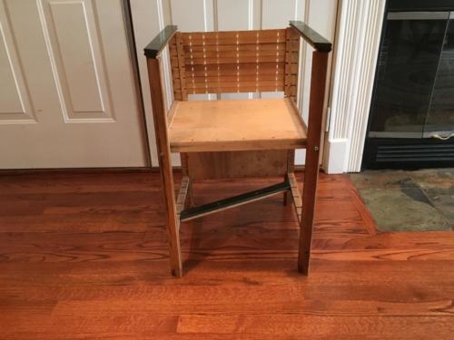 Letterpress chair