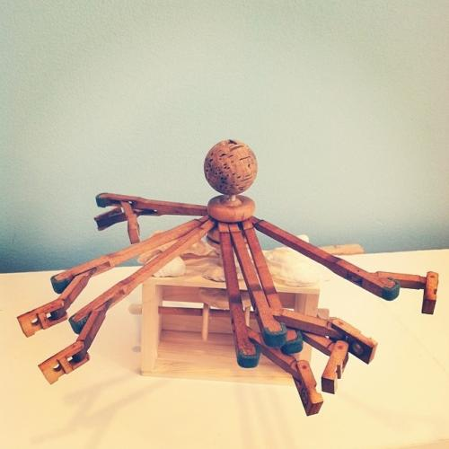 cranky octopus